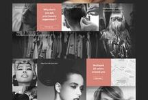 Web design inspiration / Selection of sites to use for inspiration