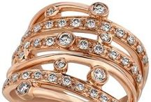 2014 Color Trend - Strawberry 'N Vanilla / 2014 Fine Jewelry Color of the Year Strawberry Gold and Vanilla Diamonds