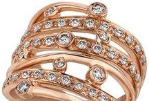 2014 Color Trend - Strawberry 'N Vanilla / 2014 Fine Jewelry Color of the Year Strawberry Gold and Vanilla Diamonds