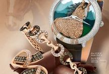 "2015 Design Trend - Saddle Up™ / ""Saddle Up™ with Le Vian®'s interpretation of the Year of the Horse theme in fine jewelry which pairs sweet Chocolate Diamonds® and Vanilla Diamonds® with understated equestrian elegance including unique details of saddles, reins, bits, stirrups and horseshoes artfully incorporated into the design.""  Eddie LeVian"