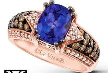 """2015 Color Trend - Santorini Blue™ / """"The breathtaking waters of Santorini, Greece are the natural inspiration for the Santorini Blue™ trend in fine jewelry highlighted by the intoxicating exotic flavor of Blueberry Tanzanite™ and the sweet scent of Cornflower Ceylon Sapphire™.""""  Eddie LeVian"""