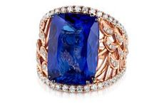 "2016 Color Trend: Blueberry™ / ""Bold blues were spotted on the catwalk signaling a continuation of the majestic blues trend. Fine jewelry also finds this blue beloved with Blueberry Tanzanite®, the 2015 Gem of the Year, sweetening fashions from fall into the New Year.""  Eddie LeVian"