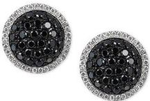 Le Vian Red Carpet® / Look who's wearing these Le Vian Red Carpet® Blackberry Diamonds® & Vanilla Diamonds® earrings.