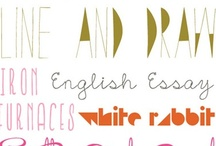 creative outlets.. / These pins help me dream, think and inspire me to create. Fonts and stuff