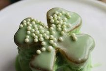 Abit of the Irish Green / All thing Irish, the color, the celebration of St. Patrick's Day / by Margie S.