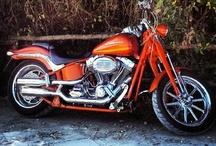 Harley and Custom Motorbikes! / The kind of ride i'd like... #harley #hd #custom #lowride