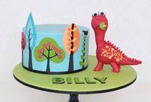 Childrens Cakes / Fun cakes for kids birthdays.  / by Lozz Staf