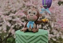 Baby Cakes / Baby shower cakes, pregnancy cakes etc / by Lozz Staf