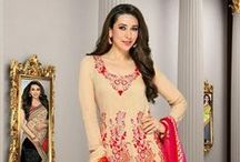 The Karisma Kapoor Collection / A collection of garments modeled by one of Bollywood's most loved leading ladies, Karisma Kapoor.