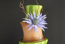 Topsy Turvy - Madhatter Cakes / Topsy, wonky, turvy, madhatter, whimsical cakes! / by Lozz Staf