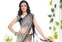 Sarees with Embroidered Blouses