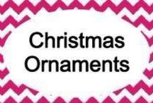 Celebrations: Christmas ornaments / by Shandra Mueller