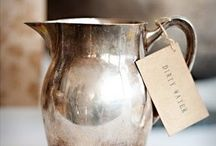 : the butler's pantry : / The beauty of old silver, white china, and fine linen... / by Janeen Farrell