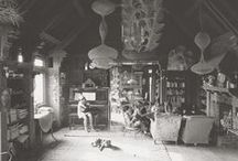 studio - work spaces / studio - work spaces - artist - writter - painter - atelier -artiste / by Violette Van Parys