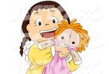Darling Dollies / Lifelike Baby & Toddler Dolls / by Wendy Bush