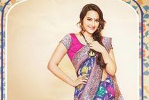 Sonakshi Sinha Sarees / by Cbazaar - Delivering Happiness