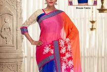 Ombre Chiffon Drapes / by Cbazaar - Delivering Happiness