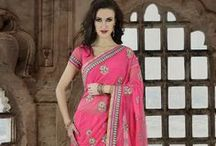 Berry Sherbet Sarees / by Cbazaar - Delivering Happiness