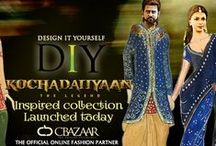 Kochadaiiyaan Inspired DIY / Cbazaar.com, the Official Online Fashion Partner of Kochadaiiyaan. Get the look of Superstar Rajinikanth as legend Rana & leading lady Deepika Padukone as princess Vadhana from Kochadaiiyaan, designed with an eclectic mix of contemporary & traditional touch with DIY- Design It Yourself  from Cbazaar.com. http://www.cbazaar.com/kochadaiiyaan_inspired_diy-collections/x-sb.html  / by Cbazaar - Delivering Happiness