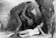 Aaaarhhhg / movie, film, fantastic, fantasy, comics, beast, animal, monster, girl, beauty, vintage, retro, 30s 40s 50s 60s, horror, scary, spooky