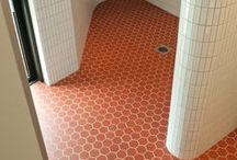 Tiles - Floors - Walls / tile - mosaic - ciment - ceramic - porcelain - glazed - bisque - enamel - glass - contemporary - antic - brick - floor - wall - pavingstones #tileporn #ihavethisthingwithfloors - baldosas -