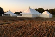 Honeycomb Marquees / Hand made traditional canvas Marquess, designed and built in Wiltshire.