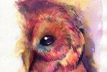 Owls / by Kelly Thompson