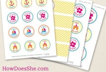 Printables & Paper Goods / by The Marshmallow Studio