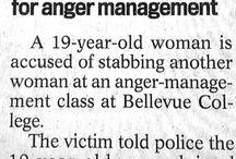 Hilarious Headlines / by Susan Panther