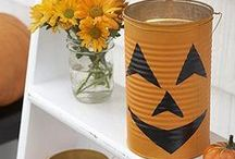 Halloween Crafts / Decorate your home with these adorable Halloween crafts for a spooky party, trick-or-treaters, or just to get your family in the spirit!
