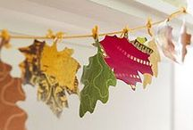 Thanksgiving Decor and Crafts / Decorate your home with these DIY ideas for Thanksgiving.