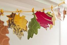 Cute Fall Crafts / Celebrate the changing seasons (and the upcoming holidays) with these cute fall crafts.
