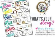 "Origami Owl / ""Like"" my Facebook page for locket ideas and other Origami Owl info.   http://www.facebook.com/OrigamiOwl.SheilaBennett"