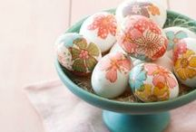 Easter Crafts / From Easter eggs to centerpieces, there are all of the crafts you need to make your home look springy and festive this Easter