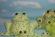 Mostly Frog Stuffies.... / by Christina Petrie