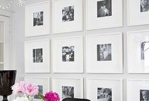 Photography Display / Gallery wall inspiration, wall art design