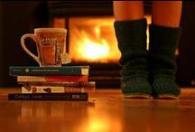 Winter Warmers / Hot chocolate, thick woolly socks, fleecy PJs and a good book. You can't beat winter!