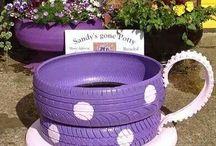 Tire crafts