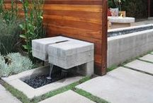 W A T E R / Outdoor Water Feature