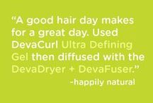 Ultra Defining Gel / This ultra-hold, moisturizing gel molds to the hair creating a moisture-protective barrier (we call that the Curl Cast) that sets curls while preventing frizz. With your unique curl shape intact, you're sure to make 'em Gel-ous. / by DevaCurl
