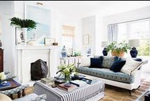 The Living Room / Living and family rooms with photography by Brittany Ambridge