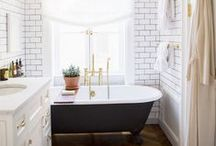 The Bathroom / Bathrooms with photography by Brittany Ambridge