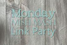Monday Mish Mash Link Party / Collection of links shared at Country Mouse City Spouse Monday Mish Mash Link Party Monday's at 5p EST.  http://countrymousecityspouse.com/monday-mish-mash-link-party-001/