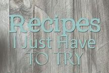 Recipes I Just HAVE To Try / A collection of recipes that just look too good to ignore.  This is a group board- to be added message me at countrymousecityspouse at gmail dot com.  Limit 5 pins per day; no adding other members without approval from moderator.  Thank you in advance for adhering to these policies.  Enjoy!