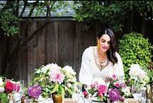 Entertaining & Food / Table settings, food, etc, with photography by Brittany Ambridge