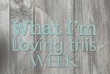 What I'm Loving This Week / Mish Mash of links that caught my eye this week!!  :)