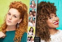 Curls Up, Combs Down / Our Spring Curl Kits are here! Curls Up, Combs Down. Let your curls loose! One of the biggest myths about wavy and curly hair is that you can't do much with it. The truth? There are loads of options! The Curls Up, Combs Down attitude is all about having a blast with your hair. No rules. No stress. This kit is packed with four moisturizing essentials to give lasting fullness and soft definition to wavy and curly hair. Play, create and show us what you've got. / by DevaCurl