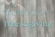 [Inspiration] Thanksgiving