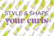 Styling & Shaping Your Curls / Explore loads of options with our mix of non-crunchy gels, rich styling creams and lightweight sprays. DevaCurl's moisturizing and defining stylers not only help you create a unique look that fits your hair texture, they also help amp up volume, fight frizz and refresh second-day curls and waves. Find out what your curls can do.