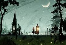 """Imaginations at Work / Art & Illustration that make me go """"Ooooh!!!"""" / by Brook Magee"""